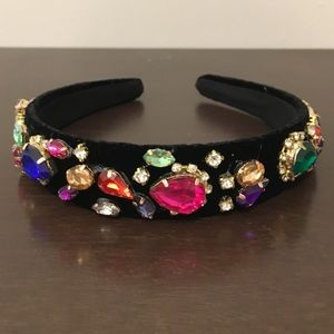 💖SALE💖 Jewels velvet headband NEW
